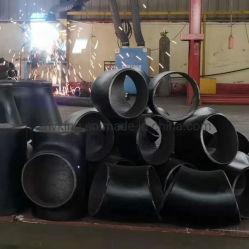 Kohlenstoffstahl-/Edelstahl-nahtloses Rohrfitting-legierter Stahl-Kolben-Schweißungs-gleiches reduzierendes geschmiedetes Reduzierstück-Kreuz-T-Stück ANSI-B16.9 API5l