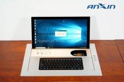 """17.3 """" hohes LCD-Kippen überwachen mit drahtloser Maus und Tastatur"""