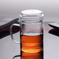 Haut de page La vente de fabricant de verre isolé tasse tasse de café en verre