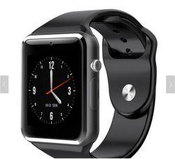 Watch Reloj inteligente 2019 Bt Smartwatch Android Wfi WiFi Wireless impermeable impermeable reloj de pulsera Reloj inteligente Smart Phone A1