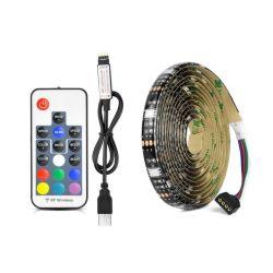 USB светодиодный индикатор газа 5050 RGB светодиодные индикаторы LED ТВ полосы света