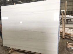 Natürlicher Stein polierte,/abgezogener weißer Dolomit für Fußboden/Wandplatten/-fliesen/-Countertops/-treppe/Sills-/Spalte-/Mosaikinnenraumdekoration