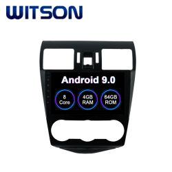 Subaruの車のDVDプレイヤーの2013-2015年の森林官4GBのRAM 64GBのフラッシュ大きいスクリーンのためのWitsonのアンドロイド9.0車GPSの運行DVDプレイヤー