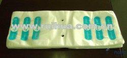 Gedruckte LDPE-Plastikschweber-Block-Feinkostgeschäft-frische Nahrungsmittelsattel-Beutel