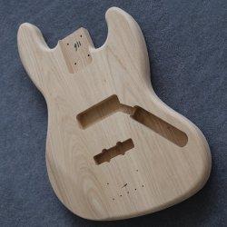 단단한 재 나무 4/5의 끈 전기 재즈 베이스 기타 바디