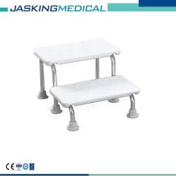 軽量のステンレス鋼の倍のフィートのステップシャワーのベンチ(JX-479S)