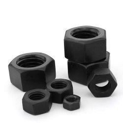 Высокая прочность ASTM A194 B8 тяжелых из нержавеющей стали с шестигранной головкой и гайки
