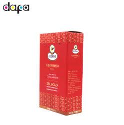 Usine de papier personnalisé de gros de la Place Rouge de l'emballage d'huile de boîte d'olive DF857