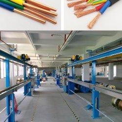 PVC PEのプラスチック家ワイヤー建物のケーブル押し出し外装機械