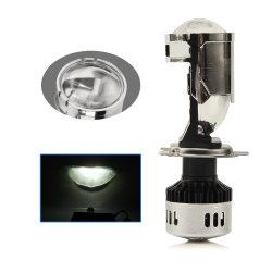 Faro automatico a LED luminoso proiettore integrato a doppia lente 6500K 9005 9006 9007 lampada per fari a LED H11 H4