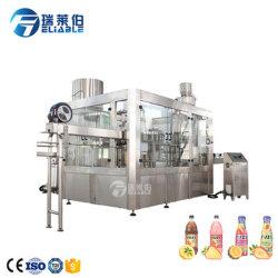 L'eau de noix de coco pure automatique de l'embouteillage Making Machine de remplissage de jus de prix
