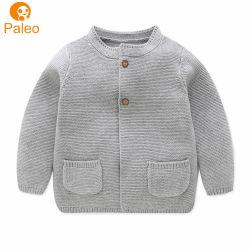 Cardigan Kid Designs de algodão Camisola de malha para crianças para meninas com entrega rápida