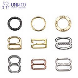 Wäsche-Zubehör-Metallbadebekleidungs-Ring-Schweber-Haken-Büstenhalter-Brücke-Einsteller