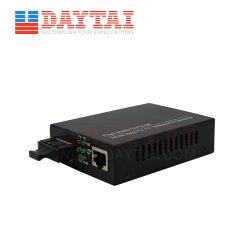 10/100Mbps Ethernet para fibra 20km Sm Conversor de mídia de fibra duplo