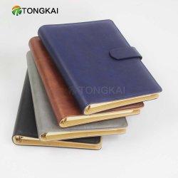 Cuaderno del Planificador de cuero de negocios Personalizado