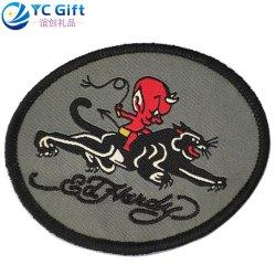 Logo Cartoon personnalisée en usine écologique des produits personnalisés pour l'impression CMJN drôle Hat Jacket correctifs broderie de transfert de chaleur étiquette uniforme de la Police militaire