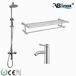 Acciaio inossidabile di Ablinox 304 316 articoli sanitari stabiliti del bacino dell'acquazzone dei montaggi della stanza da bagno 316L