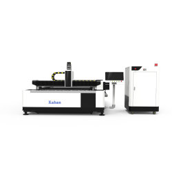 Edelstahl-Laser-Schnitt-Metall, das Kohlenstoffstahl-Blatt-Platten der Visitenkarte CNC-Scherblock-Geräten-Faser-Laser-Ausschnitt-Maschinen-500W für Fertigung-Pflanze aufbereitet