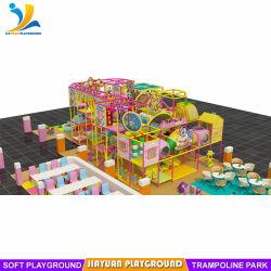 Parco giochi Pink Indoor preferito dai bambini con design carino