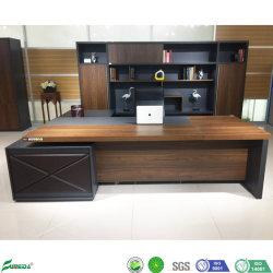 Un luxe moderne en bois Bureau informatique Bureau permanent Bureau exécutif