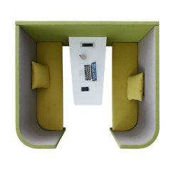 Kiosque en bois de sièges Sièges Housebooth Sleeping Pod Stand Sièges de bureau