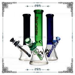 Phoenix color 10 pulgadas de cristal a mano el hábito de fumar pipa de agua el vaso de tubo narguile
