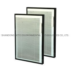 As portas de vidro de correr cegos Interno
