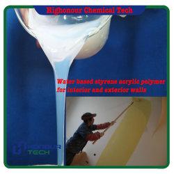Faible prix intérieur et extérieur de la peinture murale styrène émulsion copolymère acrylique