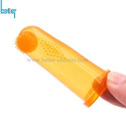 Жидкий силикон палец/грудных детей/ребенка/детей/детей в полости рта зубные щетки из натуральной щетины с случаях