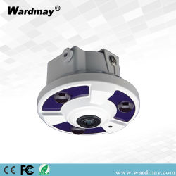 안전 Product 2.0mega Pixel Vandalproof Dome IR HD-IP Fish Eye Camera