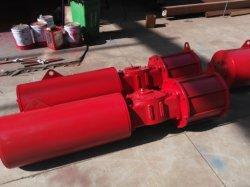 LM G 시리즈 스카치 요크 스프링 리턴 공압 밸브 액추에이터