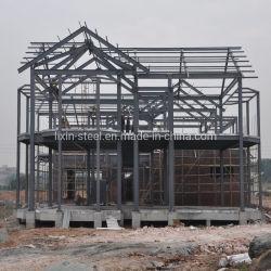 Edificio Modular prefabricados asequible Bastidor de la estructura de acero Villa casa prefabricada