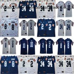 Whplesale Auburn Tigers Newton Jackson Stidham Nix NCAA College camisetas