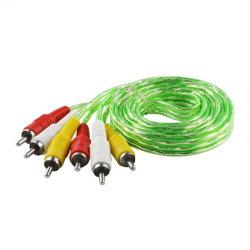 Udio video Überwachung-Netzkabel RCA-Kabel Energien-Überwachungskamera-Kabel CCTV-DVR