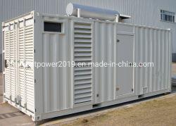 650kVA-1000kVA grupo electrógeno Perkins/Mitsubishi/Generador de insonorización de motores Diesel Cummins alternador Stamford con grupo electrógeno de contenedores de alta calidad