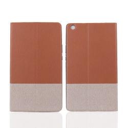 Smart Flip охватывает двухцветный TPU кожаный футляр для Samsung Galaxy Tab S5e 10.1 T720 725