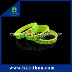 Braccialetto di energia degli accessori del silicone dei Wristbands di potere dell'equilibrio del braccialetto del silicone