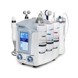 Top Venditore 2019 6 in 1 Cryo Diamond Micro Derma Apparecchio idratante per peel per la pelle Brision Oxygen Facial SPA