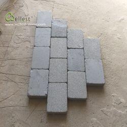 Em basalto cinza Hainan voltada a pavimentação de pedra com Pátio