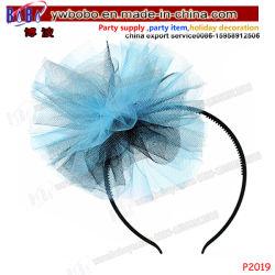 誕生会項目ダンスの製品の子供のHairbandの新型のヘッドバンドはからかう毛の宝石類(P2019)を