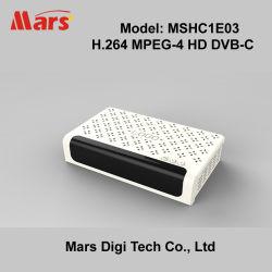 Mstar 7C02 HD H.264 MPEG-4デジタルケーブルの受信機