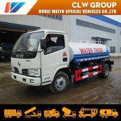 Dongfeng 4X2 3т/4т/5 тонн воды Bowser погрузчик водного транспорта противопожарной безопасности дорожного движения
