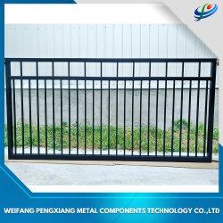 옥외 알루미늄 문 금속 문 차고 문 미닫이 문 직류 전기를 통한 강철 문 또는 단철 문 홈을%s 자동적인 문 /Iron 주출입구 디자인 또는 정원 또는 농장
