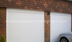 Fenêtre commerciale et de sécurité extérieure de porte électrique et manuel de volets roulants en aluminium