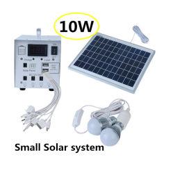 キャンプのための携帯用太陽エネルギーのホーム照明装置キット