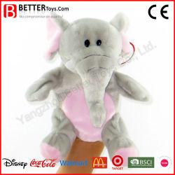 Elefante animais taxidermizados fantoche de mão para as crianças/Crianças