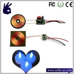 Voyant de charge sans fil Solution bougie électronique PCBA
