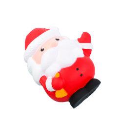 La hausse lente Squishy noël santa claus et Bonhomme de neige le soulagement du stress des jouets pour enfants cadeau