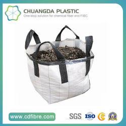 Рр FIBC тканый мешок для массовых плоской нижней части для добычи полезных ископаемых