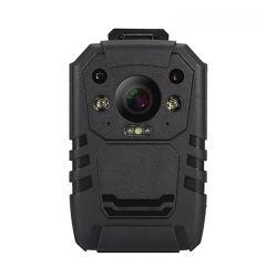 Tamanho Mini impermeável de vigilância policial HD super vídeo junto ao corpo da câmera digital com construir o GPS interno